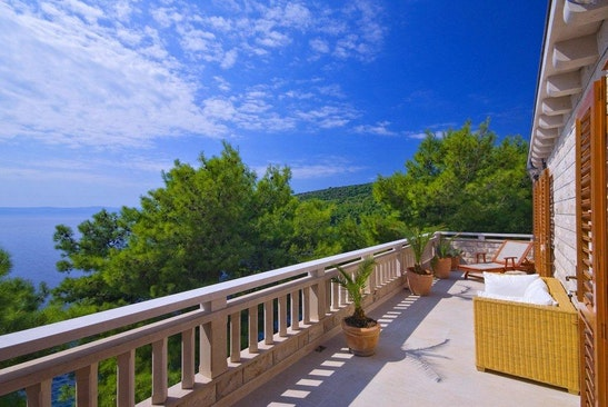 Penthouse terrace perfect for nude sunbathing
