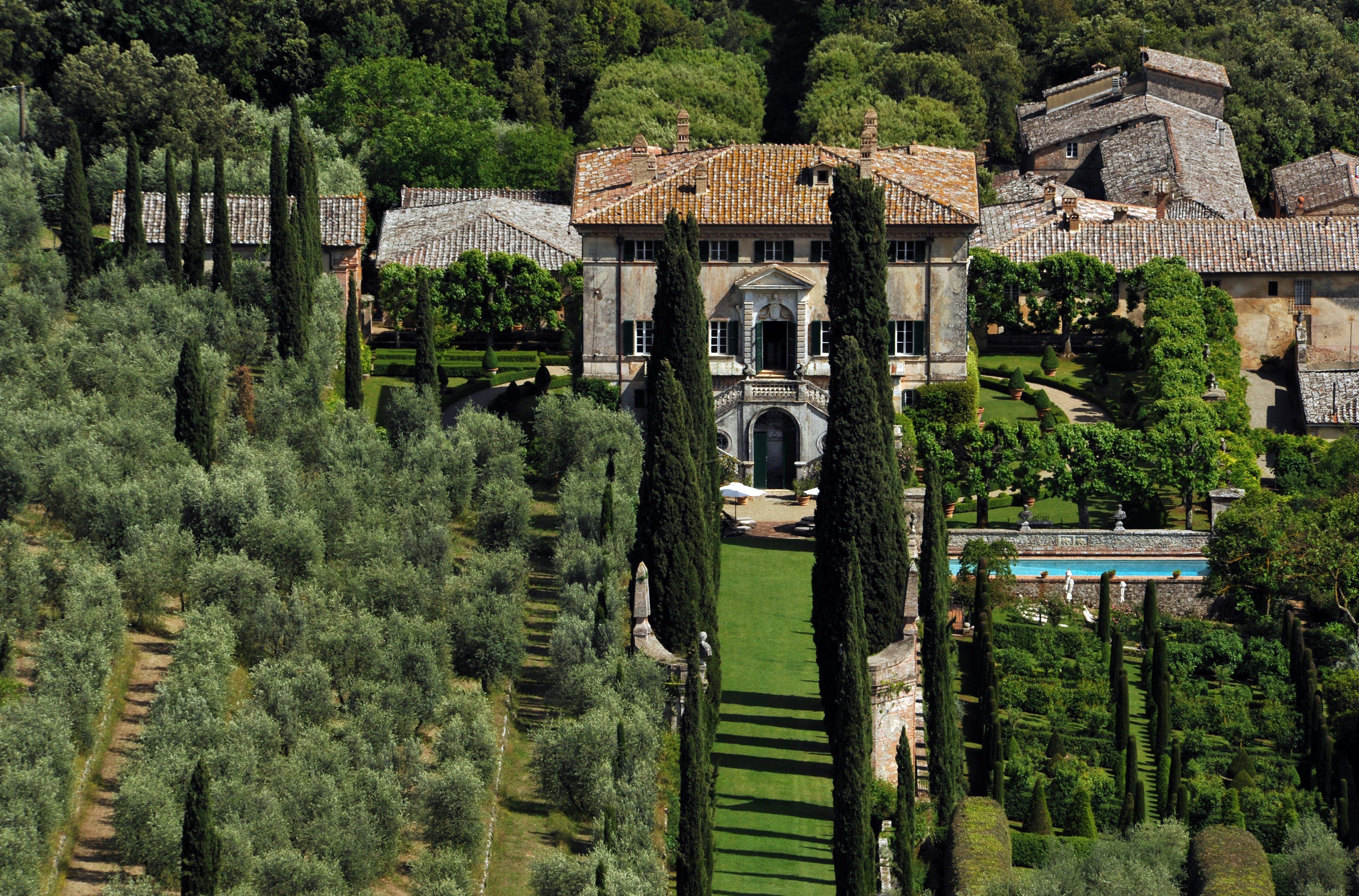 Villa Cetinale Toscane