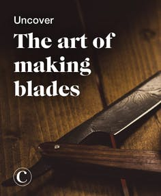 Uncover the art of making blades