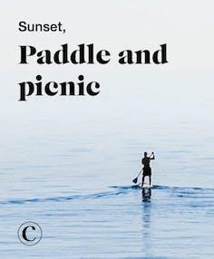 Sunset, paddle and picnic