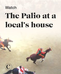 Watch the Palio at a local's house
