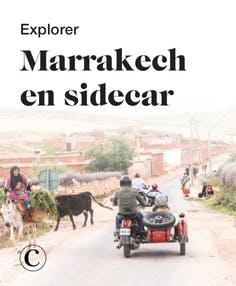 Explorer Marrakech en sidecar