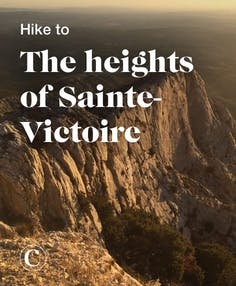 Hiking to the heights of Sainte-Victoire