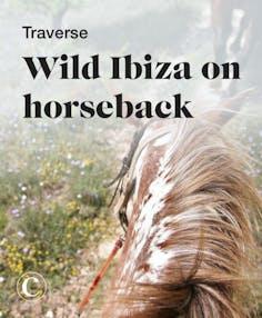 Traverse wild Ibiza on horseback