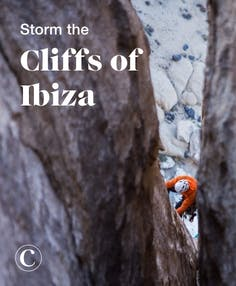 Storm the cliffs of Ibiza