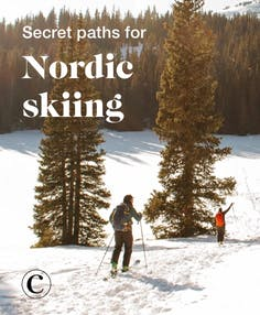 Secret paths for Nordic skiing