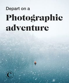 Depart on a photographic adventure