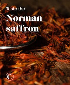 Taste the Norman saffron