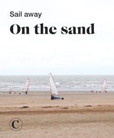 Sail away on the sand