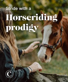 Stride with a horseriding prodigy