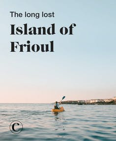 The long lost island of Frioul