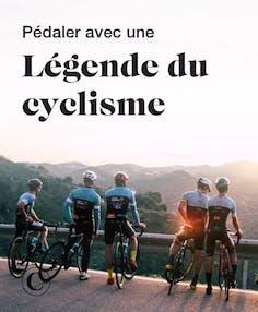 Pédaler avec une légende du cyclisme