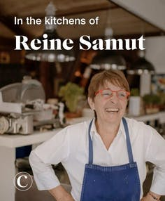 In the kitchens of Reine Samut
