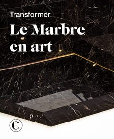 Transformer le marbre en art