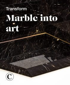 Transform marble into art