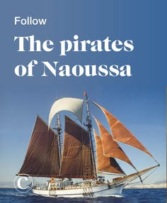 Follow the pirates of Naoussa