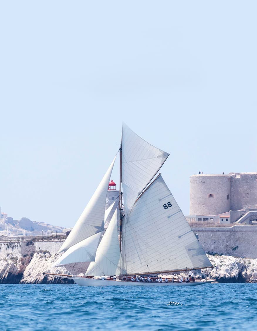 Sailing in Saint-Tropez