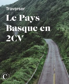 Traverser le Pays Basque en 2CV
