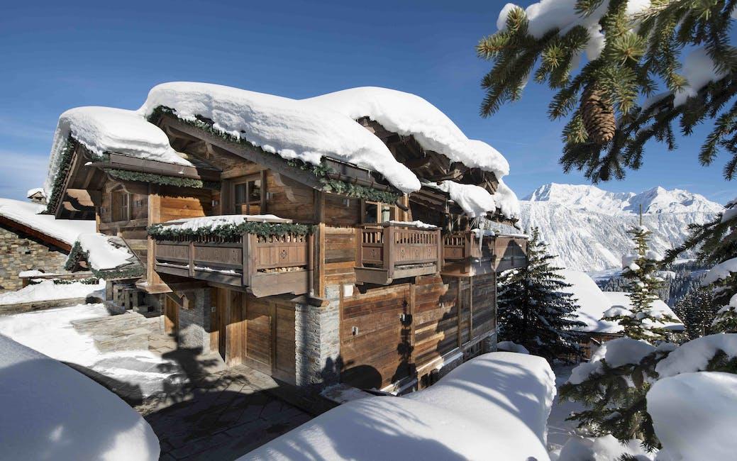 luxury chalet rentals in Courchevel