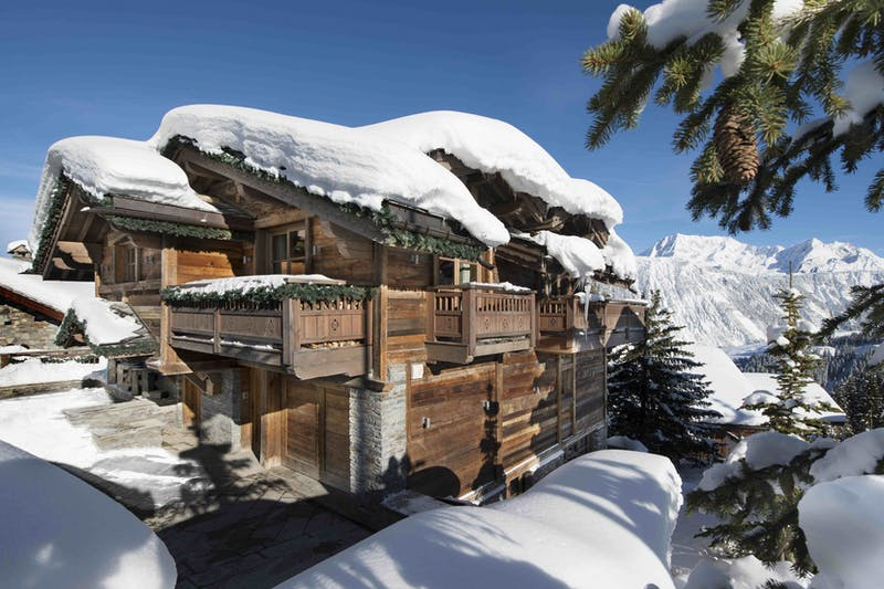 The best chalets in Courchevel