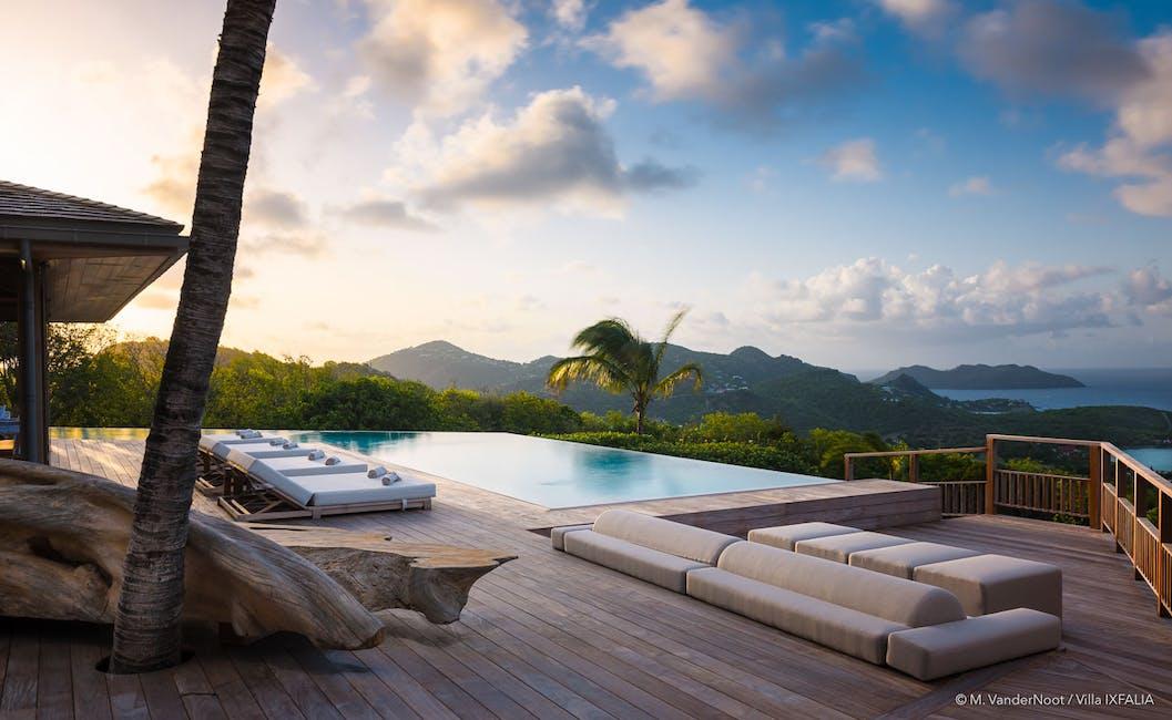 luxury villa rentals in Saint-Barthelemy