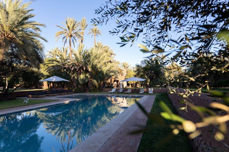 Marrakech villa luxe
