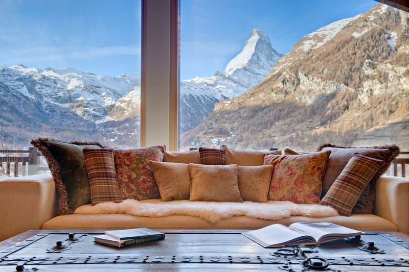 Luxury ski chalets in Zermatt
