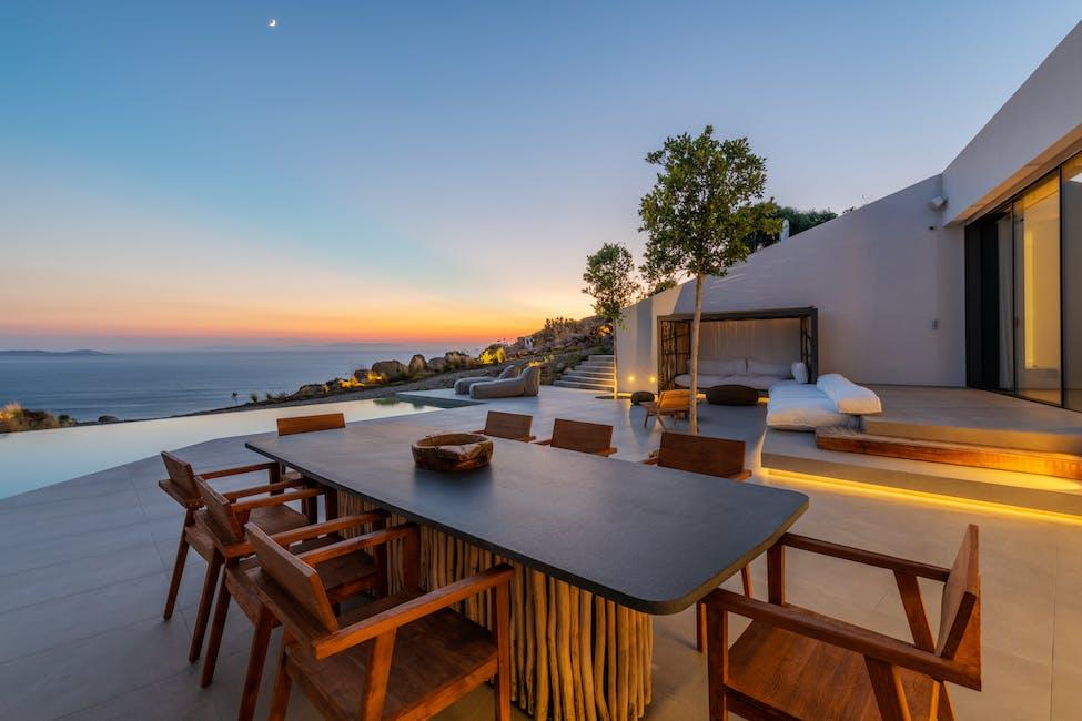 luxury villa rentals in Mykonos