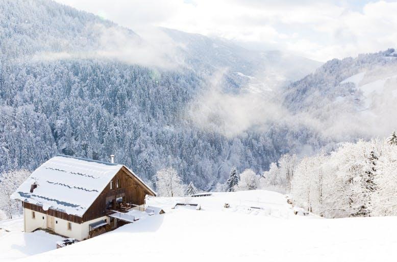 Chalet ski in ski out in Megeve
