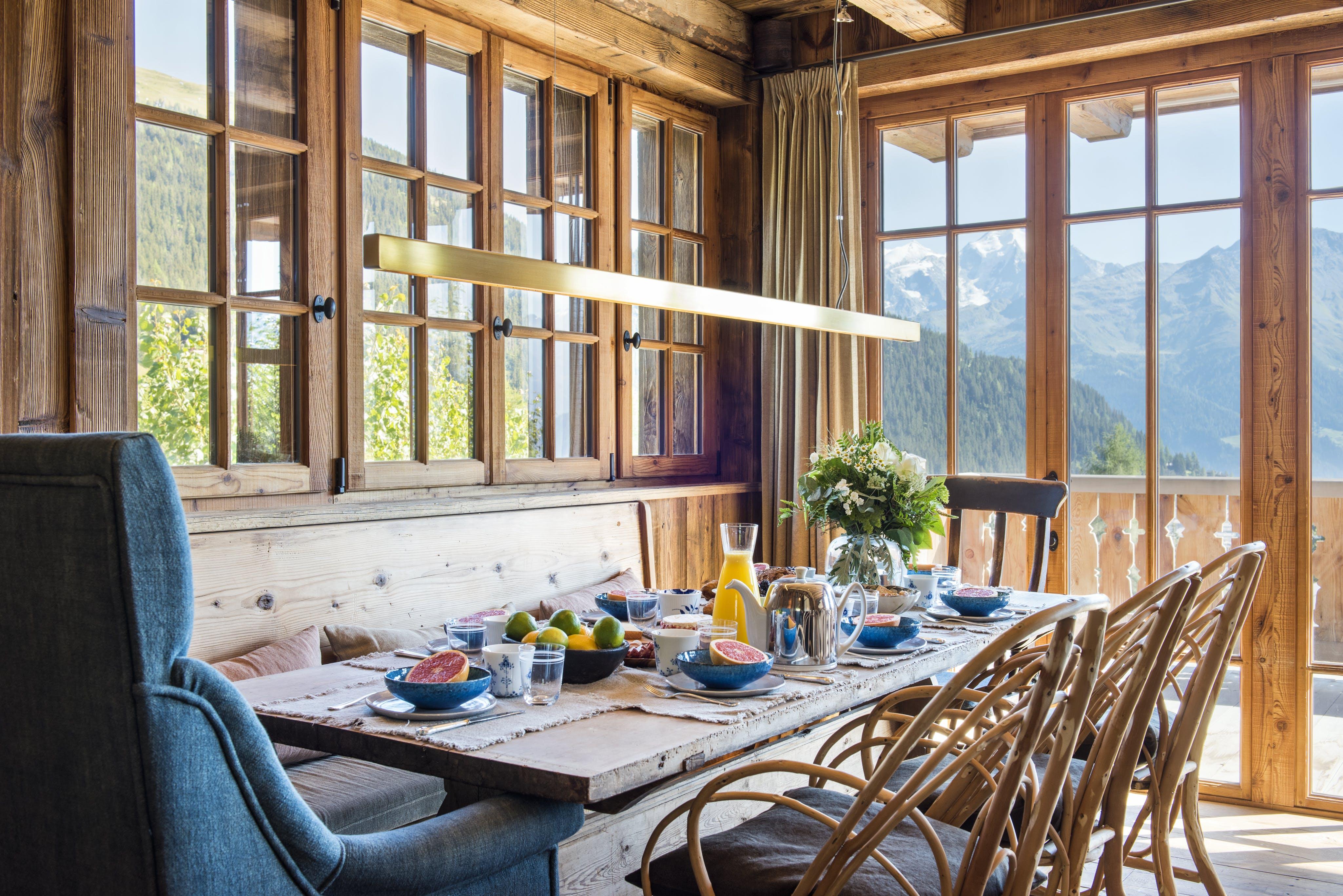 Location villa luxe Verbier